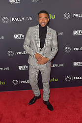 December 14, 2016 - Beverly Hills, Kalifornien, USA - Algee Smith bei der Premiere der BET TV-Miniserie 'The New Edition Story' im Paley Center for Media. Beverly Hills, 14.12.2016 (Credit Image: © Future-Image via ZUMA Press)