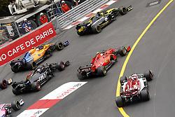 May 26, 2019 - Monte Carlo, Monaco - Motorsports: FIA Formula One World Championship 2019, Grand Prix of Monaco, ..Start  (Credit Image: © Hoch Zwei via ZUMA Wire)