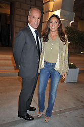 MASSIMO & SARA CARELLO attend the private view of Anish Kapoor's latest exhibition at the Royal Academy of Arts, Piccadilly, London on 22nd September 2009