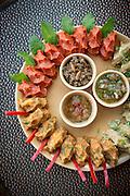 Mayrig Selection (potato, raw beef and lentil), Mayrig Selection, downtown Dubai, United Arab Emirates