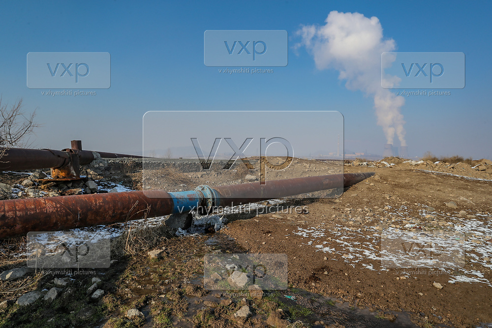 A pipe that appears to be coming from Metsamor nuclear power station in Armenia, seemed to be leaking an unknown liquid nearby the cooling towers on Friday, Jan 22, 2021. It is one of the last old operating Soviet reactors built without containment vessels, its location in a seismic zone has drawn renewed attention since Japan's earthquake-and-tsunami-triggered crisis. Nuclear Engineering International reported on January 18 that Armenia plans to extend the service life of its five-decade-old nuclear power plant in Metsamor after 2026 and has not abandoned plans to build a new plant. (Photo/ Vudi Xhymshiti)