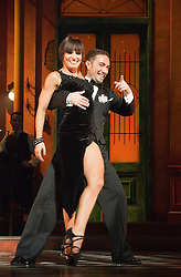 "© Licensed to London News Pictures. 30/01/2012. London, England. ""Midnight Tango"" with ""Strictly Come Dancing"" Stars Flavia Cacace and Vincent Simone opens at the Aldwych Theatre, London. Photo credit: Bettina Strenske/LNP"