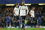 Kyle Walker of Tottenham Hotspur looking on. Premier league match, Chelsea v Tottenham Hotspur at Stamford Bridge in London on Saturday 26th November 2016.<br /> pic by John Patrick Fletcher, Andrew Orchard sports photography.
