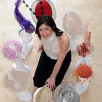 Carol Kennelly, milliner, a  a former  Killarney Races Fashion winner . Picture: Eamonn Keogh (MacMonagle, Killarney)