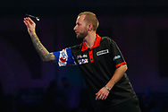 Danny Noppert during the PDC World Championship darts at Alexandra Palace, London, United Kingdom on 14 December 2018.