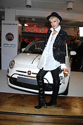 Model AGYNESS DEYN at a party to celebrate the launch of the new Fiat 500 car held at the London Eye, Westminster Bridge Road, London on 21st January 2008.<br /><br />NON EXCLUSIVE - WORLD RIGHTS (EMBARGOED FOR PUBLICATION IN UK MAGAZINES UNTIL 1 MONTH AFTER CREATE DATE AND TIME) www.donfeatures.com  +44 (0) 7092 235465