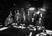 1967 - Hannover Chamber of Commerce members meet George Colley at the Dept. of Industry and Commerce