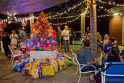 Christmas Tree Lighting and Seasonal Fundraiser for the Humane Society of St. Thomas.  St. Thomas, USVI.  11 De© Aisha-Zakiya Boyd