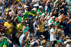 Brazilian supporters<br /> Olympic Games Rio 2016<br /> © Hippo Foto - Dirk Caremans<br /> 16/08/16