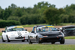 Courtney Milnes pictured competing in the 5Club Racing MX-5 Cup. Image captured at Snetterton on July 18/19, 2020 by 750 Motor Club's photographer Jonathan Elsey