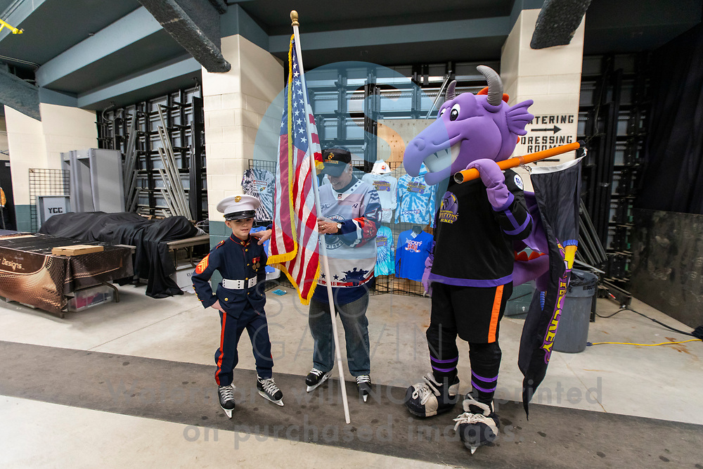 The Youngstown Phantoms defeat the Cedar Rapids RoughRiders 3-1 at the Covelli Centre on March 7, 2020.<br /> <br /> Sparky