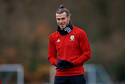 CARDIFF, WALES - Monday, November 19, 2018: Wales' Gareth Bale during a training session at the Vale Resort ahead of the International Friendly match between Albania and Wales. (Pic by David Rawcliffe/Propaganda)