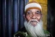 Man in Surabaya city, Java, Indonesia.