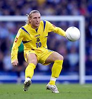 Photo: Jed Wee/Sportsbeat Images.<br /> Scotland v Ukraine. UEFA European Championships Qualifying. 13/10/2007.<br /> <br /> Ukraine's Andriy Voronin.