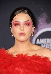 Katherine Langford at the 2019 American Music Awards held at the Microsoft Theater in Los Angeles, USA on November 24, 2019.