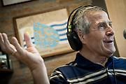 20170306/ Javier Calvelo - adhocFOTOS/ URUGUAY/ MONTEVIDEO/Complejo Uruguay Celeste.<br /> En la foto:  Óscar Tabárez en entrevista en el Complejo Uruguay Celeste. Foto: Javier Calvelo/ adhocFOTOS