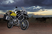 2009 BMW R1200GS Adventure with camping gear