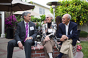 The San Jose State University Heritage Society hosts thier annual President's Reception at a private residence in San Jose, California, on May 4, 2016. (Stan Olszewski/SOSKIphoto)