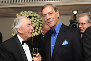 SIR ROBERT OGDEN; SIR HENRY CECIL, The Cartier Racing Awards. The Ballroom, Dorchester hotel. Park Lane. London. 15 November 2011. <br /> <br />  , -DO NOT ARCHIVE-© Copyright Photograph by Dafydd Jones. 248 Clapham Rd. London SW9 0PZ. Tel 0207 820 0771. www.dafjones.com.