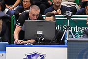 DESCRIZIONE : Campionato 2014/15 Dinamo Banco di Sardegna Sassari - Enel Brindisi<br /> GIOCATORE : Carmelo Paternico<br /> CATEGORIA : Instant Replay Arbitro Referee<br /> SQUADRA : AIAP<br /> EVENTO : LegaBasket Serie A Beko 2014/2015<br /> GARA : Dinamo Banco di Sardegna Sassari - Enel Brindisi<br /> DATA : 27/10/2014<br /> SPORT : Pallacanestro <br /> AUTORE : Agenzia Ciamillo-Castoria / Luigi Canu<br /> Galleria : LegaBasket Serie A Beko 2014/2015<br /> Fotonotizia : Campionato 2014/15 Dinamo Banco di Sardegna Sassari - Enel Brindisi<br /> Predefinita :