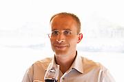 Stephane Saurel, owner and winemaker, Domaine les Terrasses d'Eole, Cotes du Ventoux, village of Mazan, Rhone, France, Europe