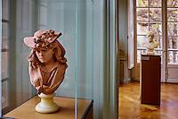 France, Paris (07), musée Rodin, 77 rue de Varenne, Jeune Femme au chapeau fleuri // France, Paris, Rodin museum