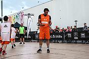Basketball: ING-DiBa German Championship 3x3, Deutsche Meisterschaft, Hamburg, 05.08.2017<br /> Charity-Spiel: Schauspieler Carsten Spengemann<br /> (c) Torsten Helmke