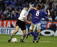 Photo: Paul Thomas. Leicester City v Derby County, Walkers Stadium, Leicester. Coca Cola Championship, 26/04/2005. Grzegorz Rasiak