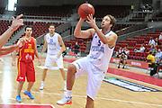 Danzica - Polonia 04 Agosto 2012 - TORNEO INTERNAZIONALE SOPOT CUP - Italia Montenegro<br /> Nella Foto : DANIELE CAVALIERO<br /> Foto Ciamillo