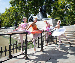 Hailing from New York City, the all-male comedy ballet company Les Ballets Trockadero de Monte Carlo, affectionately know as The Trocks, have arrived in London for the start of their Dance Consortium presented UK and Ireland 2018 Tour opening at The Peacock theatre<br />