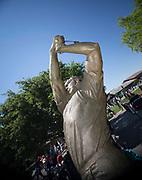 THE SATUE OF THE KING MR ARMOLD PALMER (USA) during  the The Arnold Palmer Invitational Championship 2017, Bay Hill, Orlando,  Florida, USA. 14/03/2017.<br /> Picture: PLPA/ Mark Davison<br /> <br /> <br /> All photo usage must carry mandatory copyright credit (© PLPA   Mark Davison)