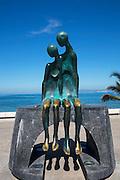 ?La Nostalgia? (?Nostalgia?) by Ramiz Barquet, 1984, The Malecon, Puerto Vallarta, Jalisco, Mexico,