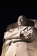 Civil Rights Leader: The Stone of Hope, Martin Luther King, Jr. Memorial, Washington DC, United States of America. Out of the mountain of despair, a stone of hope.