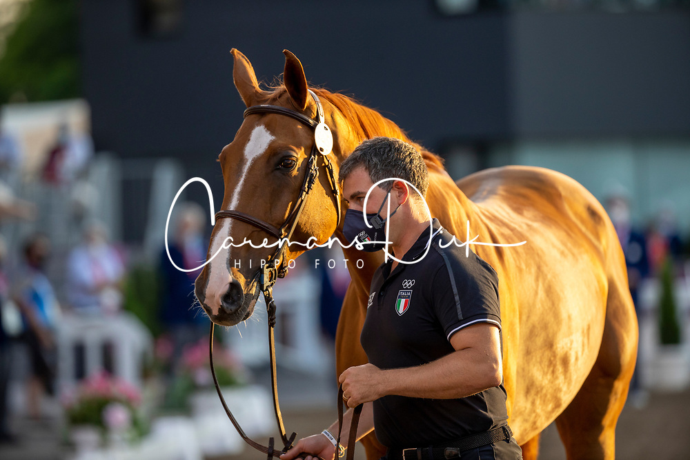Gaudiano Emanuele, ITA, Chalou, 355<br /> Olympic Games Tokyo 2021<br /> © Hippo Foto - Dirk Caremans<br /> 31/07/2021