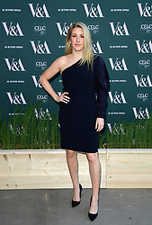 Ellie Goulding attending the VIP preview for the V&A Museum's Fashioned From Nature exhibition, in London. Picture date: Wednesday April 18, 2018. Photo credit should read: Ian West/PA Wire
