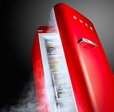Red Freezer - SMEG