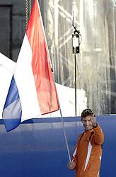 06-08-2006 ATLETIEK: EUROPEES KAMPIOENSSCHAP: GOTHENBORG <br /> De openingsceremonie van de 29th European Championships Athletics werd op de Gotaplatsen gehouden / <br /> ©2006-WWW.FOTOHOOGENDOORN.NL