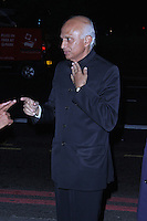 His Excellency Ranjan Mathai, Asian Achievers Awards 2014, Grosvenor House Hotel, London UK, 19 September 2014; Photo By Brett D. Cove