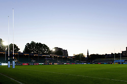 A general view of the Recreation Ground prior to kick-off - Mandatory byline: Patrick Khachfe/JMP - 07966 386802 - 09/09/2020 - RUGBY UNION - The Recreation Ground - Bath, England - Bath Rugby v Worcester Warriors - Gallagher Premiership
