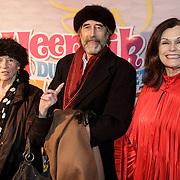 NLD/Amsterdam/20150201 - Premiere Heerlijk duurt het Langst, Kitty Courbois, Nicolaas Oldenburg en partner Liz Snoijnk