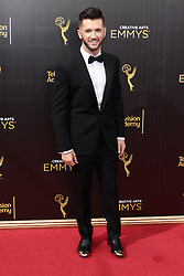 .Travis Wall  attends  2016 Creative Arts Emmy Awards - Day 2 at  Microsoft Theater on September 11th, 2016  in Los Angeles, California.Photo:Tony Lowe/Globephotos