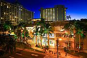 Royal Hawaiian Shopping Center, Waikiki, Oahu, Hawaii