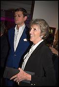 LORD ALEXANDER SPENCER CHURCHILL; JANE CHURCHILLotheby's Frieze week party. New Bond St. London. 15 October 2014.