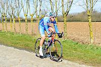 De Troyer Tim - Wanty Groupe Gobert - 31.03.2015 - Trois jours de La Panne - Etape 01 - De Panne / Zottegem <br /> Photo : Sirotti / Icon Sport<br /> <br />   *** Local Caption ***