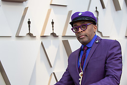 Oscar® nominee Spike Lee arrives on the red carpet of The 91st Oscars® at the Dolby® Theatre in Hollywood, CA on Sunday, February 24, 2019.