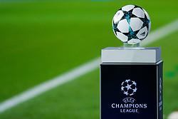 December 5, 2017 - Barcelona, Spain - UEFA Champions League football, Barcelona v Sporting Lisboa; UCL Ball ready for the match (Credit Image: © Eric Alonso via ZUMA Wire)