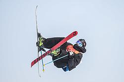 February 18, 2018 - Pyeongchang, Gangwon, South Korea - Andri Ragettli of Switzerland competing in slope style for men at phoenix park, Pyeongchang,  South Korea on Febuary 18, 2019. (Credit Image: © Ulrik Pedersen/NurPhoto via ZUMA Press)