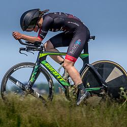 EMMEN (NED) June 16: <br />CYCLING <br />Dutch Nationals Time Trail Women Elite Tessa Zandberg