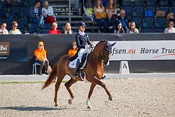 Van Liere Dinja, NED, Hartsuijker<br /> Nederlands Kampioenschap dressuur<br /> Ermelo 2020<br /> © Hippo Foto - Sharon Vandeput<br /> 20/09/2020