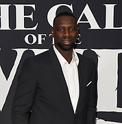 """13 February 2020 - Hollywood, California - Omar Sy at the World Premiere of twentieth Century Studios """"The Call of the Wild"""" Red Carpet Arrivals at the El Capitan Theater."""